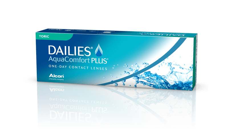 DAILIES® AquaComfort Plus® Toric pack shot